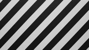 Превью обои полосы, линии, чб, наискось, черный, белый