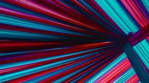 Превью обои полосы, линии, разноцветный, неон, подсветка