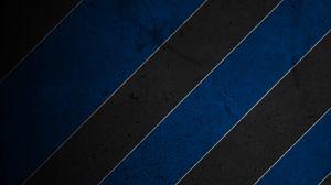 Превью обои полосы, синий, черный, белый