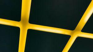 Превью обои прямоугольники, линии, полосы, подсветка, желтый, черный