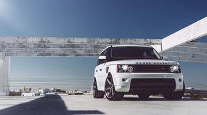 Превью обои range rover, авто, машина, автомобили, машины