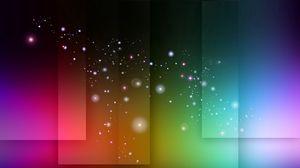 Превью обои разноцветный, пятна, квадраты, блики