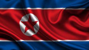 Превью обои северная корея, интернет, отключение, флаг, символика
