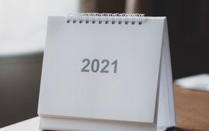Превью обои 2021, год, календарь