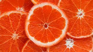 Превью обои апельсин, цитрус, спелый, фрукт