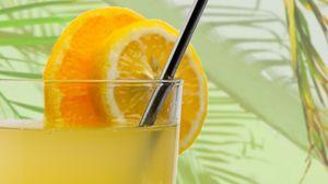 Превью обои апельсины, сок, фрукты, цитрус, напиток