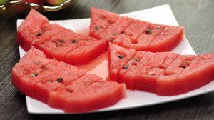 Превью обои арбуз, ягода, спелый