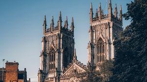 Превью обои архитектура, здание, собор, готика