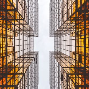 Превью обои архитектура, небоскреб, небо