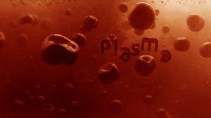 Превью обои арт, кровь, плазма