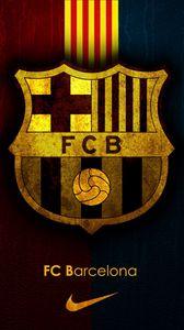 Превью обои барселона, испания, футбольный клуб, спорт, эмблема