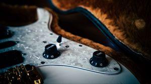 Превью обои бас гитара, струны, управление