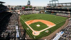 Превью обои бейсбольное поле, бейсбол, трибуны, спорт, споритвный