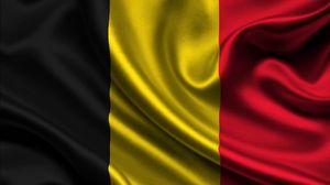 Превью обои бельгия, сатин, флаг