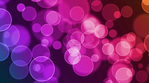 Превью обои блики, круги, разноцветный, яркий, фон