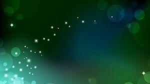 Превью обои блики, свет, зеленый, абстракция