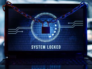 Превью обои блокировка, система, слова, матрица, экран, хакер