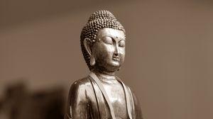 Превью обои будда, медитация, восток, статуэтка
