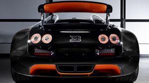 Превью обои bugatti, veyron, grand sport, roadster, vitesse