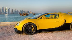Превью обои bugatti, veyron, supercar, grand, sport, 16 4, 2012, бугатти, qatar