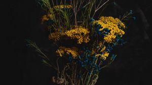 Превью обои букет, цветы, композиция, ваза