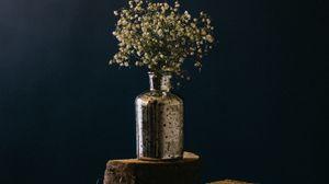 Превью обои букет, цветы, ваза, декорация