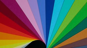 Превью обои бумага, радуга, разноцветный