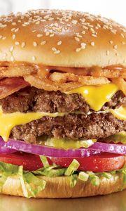 Превью обои бургер, мясо, котлета, сыр, булочка