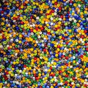 Превью обои бисер, бусины, блики, разноцветный, текстура