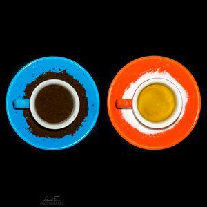 Превью обои чай, чашка, оранжевый, яркий