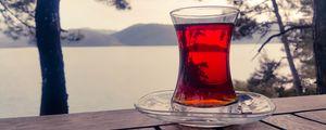 Превью обои чашка, чай, напиток, стакан