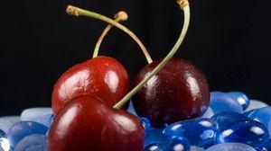 Превью обои черешня, ягода, спелый