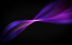 Превью обои черный, фон, линии, фиолетовый, цвет, графика