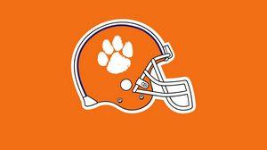 Превью обои clemson tigers, американский футбол, логотип