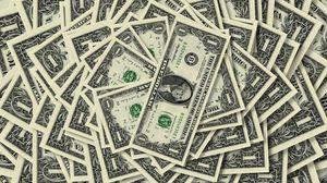Превью обои деньги, доллар, достоинство, количество, купюры, один, фон