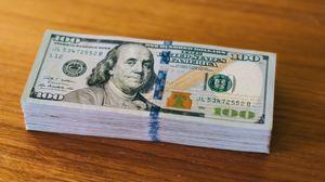 Превью обои деньги, доллары, валюта, купюры, портрет