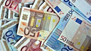 Превью обои деньги, евро, фон