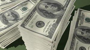 Превью обои деньги, пачка, стопка, доллары