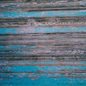 Превью обои дерево, доски, поверхность, синий, текстура
