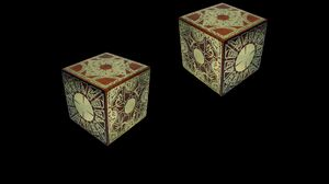 Превью обои дерево, магия, куб