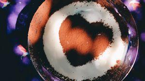 Превью обои десерт, шоколад, украшение, сладкий, тарелка