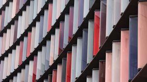 Превью обои дизайн, архитектура, конструкция, разноцветный