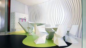 Превью обои дизайн, комната, интерьер, стол, стулья