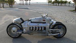 Превью обои dodge tomahawk, мотоцикл, экстрим, daimlerchrysler