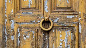 Превью обои дверь, деревянный, старый, текстура
