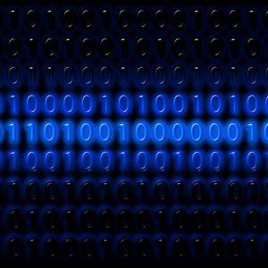 Превью обои двоичный код, бинарный код, цифры, программирование