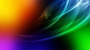 Превью обои дым, линии, пятна, свет, цвет