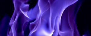 Превью обои дым, огонь, цветной, фиолетовый