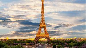 Превью обои эйфелева башня, париж, франция, достопримечательность