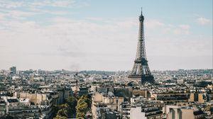Превью обои эйфелева башня, париж, здания